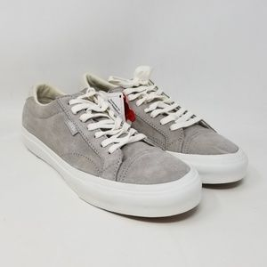 Vans Court DX Pig Suede Grey Sneakers Men's Sz 7
